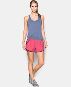 Women's UA Fly-By Run Short LIMITED TIME: FREE SHIPPING 2 Colors $24.99
