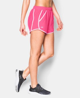Women's UA Fly-By Run Short - 2 For $30  1 Color $22.99