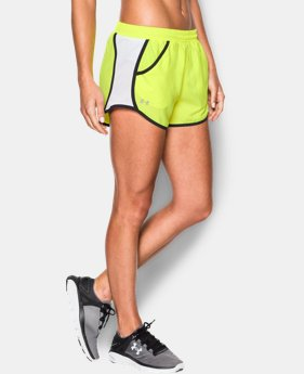 Women's UA Fly-By Run Short LIMITED TIME: FREE SHIPPING 12 Colors $22.99 to $29.99
