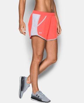 Women's UA Fly-By Run Shorts   $18.74