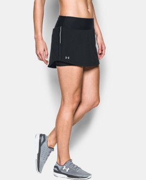 Women's UA HeatGear® CoolSwitch Run Skort LIMITED TIME: FREE U.S. SHIPPING 1 Color $41.99