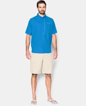 Men's UA ArmourVent™ Short Sleeve Shirt  1 Color $52.99