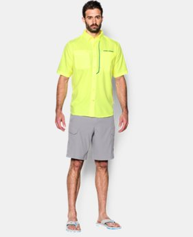 Men's UA ArmourVent™ Short Sleeve Shirt  1 Color $39.74