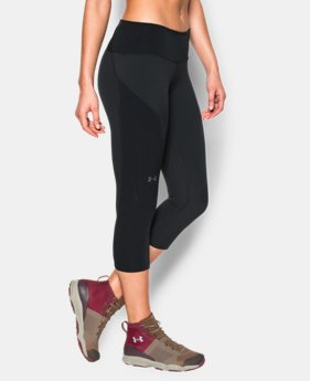 Women's UA ArmourVent™ Trail Capri  1 Color $32.99