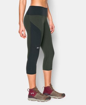 New Arrival  Women's UA ArmourVent™ Trail Capri  3 Colors $69.99