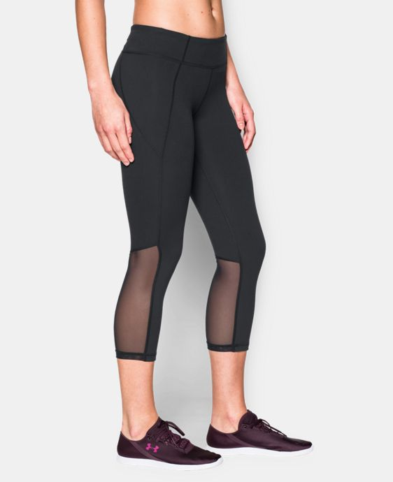 New to Outlet Women's UA Mirror Color Block Crop LIMITED TIME: FREE U.S. SHIPPING 4 Colors $36.74 to $64.99