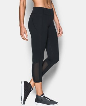 Women's UA Mirror Crop  1 Color $52.99