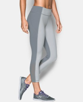 Best Seller Women's UA Mirror Color Block Crop LIMITED TIME: FREE U.S. SHIPPING 2 Colors $48.99 to $64.99