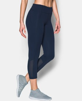 Women's UA Mirror Color Block Crop  3 Colors $74.99