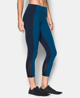 Women's UA Mirror Crop LIMITED TIME: FREE SHIPPING 1 Color $74.99