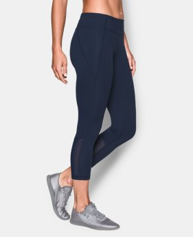 New to Outlet Women's UA Mirror Color Block Crop LIMITED TIME: FREE U.S. SHIPPING  $36.74 to $64.99