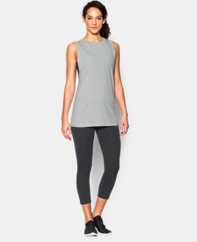 Women's UA Studio Muscle Tank LIMITED TIME: FREE SHIPPING  $39.99
