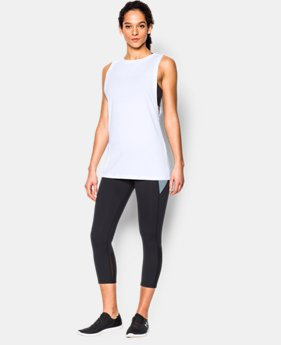 New to Outlet Women's UA Studio Muscle Tank  1 Color $26.99