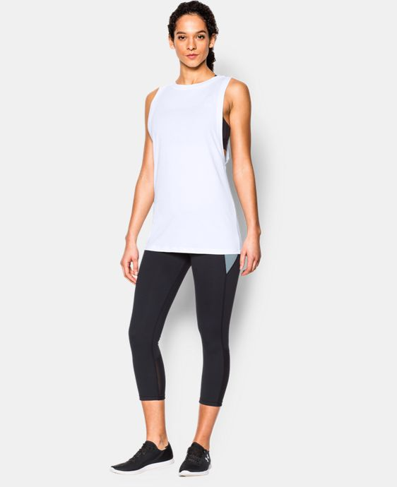 New to Outlet Women's UA Studio Muscle Tank  1 Color $20.24