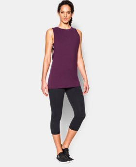 New to Outlet Women's UA Studio Muscle Tank LIMITED TIME: FREE U.S. SHIPPING  $26.99