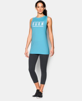 Women's UA Studio Graphic Muscle Tank LIMITED TIME: FREE SHIPPING 1 Color $33.99