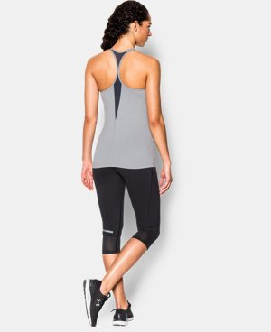 New to Outlet Women's UA Solid Lux Tank  1 Color $22.49 to $37.99