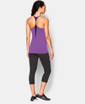 New to Outlet Women's UA Solid Lux Tank LIMITED TIME: FREE U.S. SHIPPING  $22.49 to $37.99