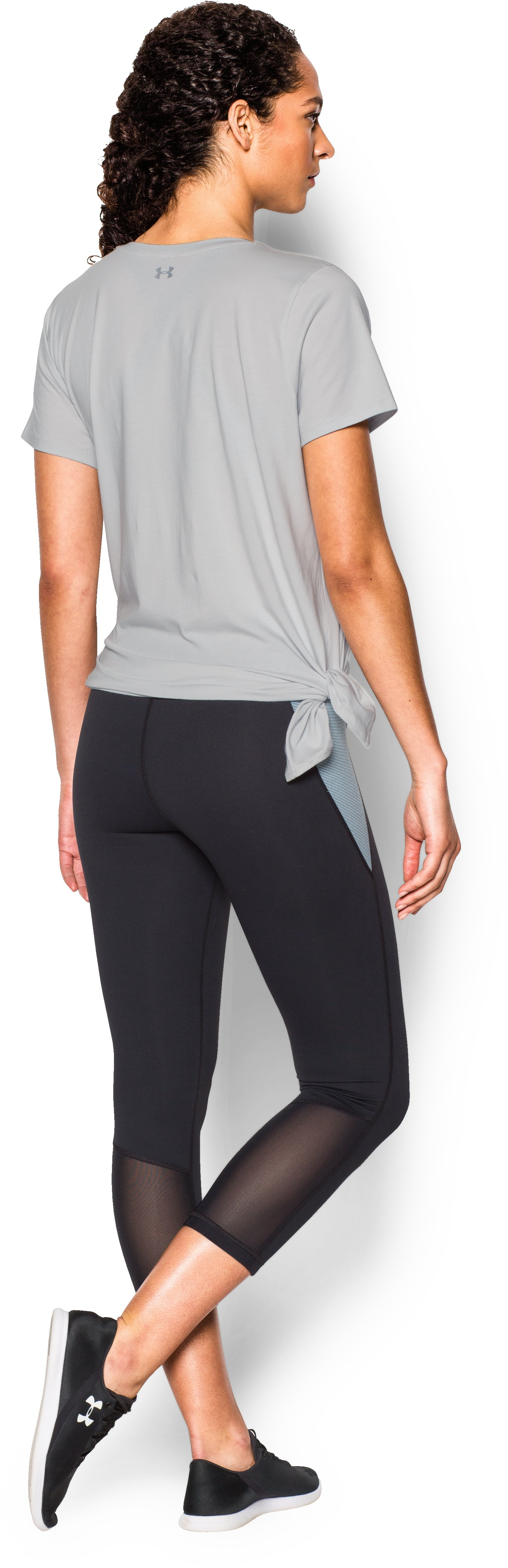Women's UA Studio Oversized T, Elemental, Back