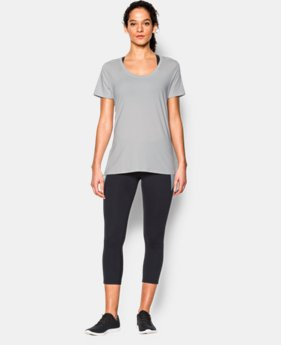 New to Outlet Women's UA Studio Oversized T  2 Color