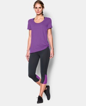 New to Outlet Women's UA Studio Oversized T   $29.99
