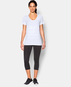 Women's UA Studio Oversized Graphic T  1 Color $37.99