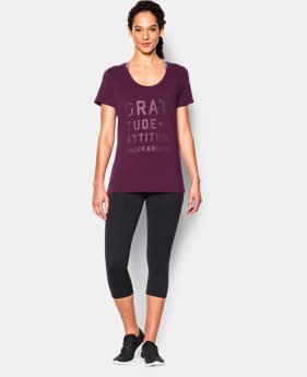 Women's UA Studio Oversized Graphic T  1 Color $26.99 to $33.99