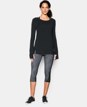 Women's UA Studio Oversized Long Sleeve   $33.99