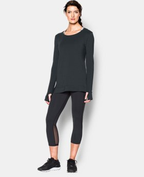 Women's UA Studio Oversized Long Sleeve  1 Color $33.99