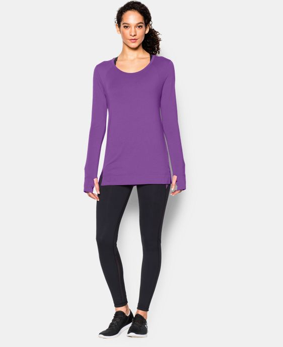 Women's UA Studio Oversized Long Sleeve LIMITED TIME: FREE SHIPPING 1 Color $37.99