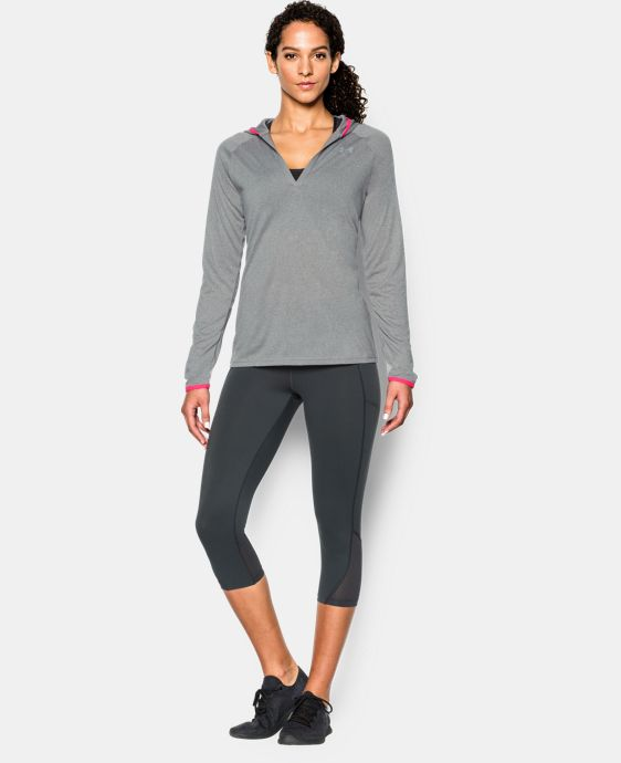 Women's UA Tech™ Long Sleeve Hoodie LIMITED TIME OFFER + FREE U.S. SHIPPING 2 Colors $33.74