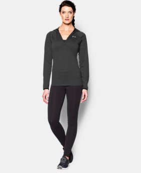 Women's UA Tech™ Long Sleeve Hoodie  1 Color $33.74
