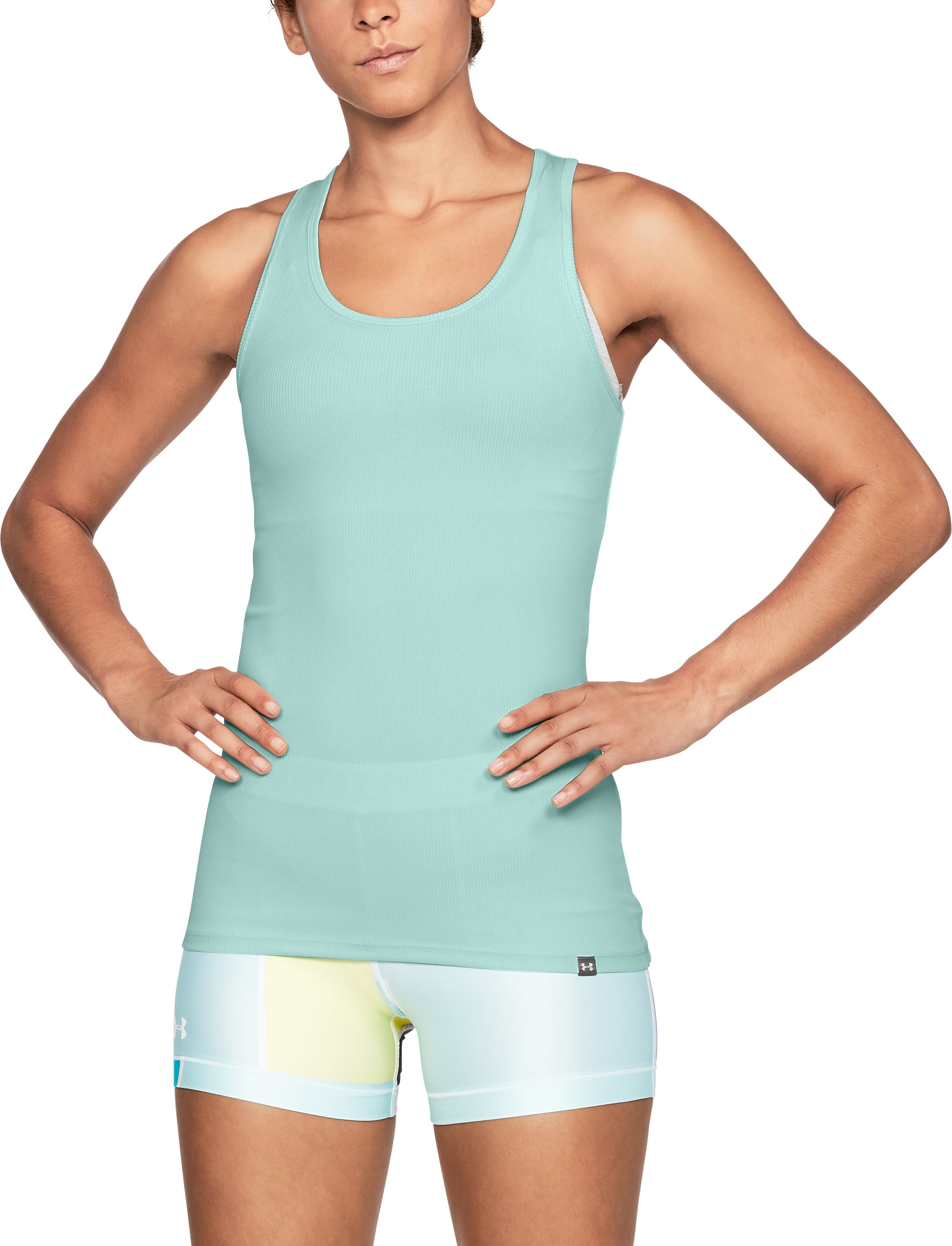 Women's UA Tech™ Victory Tank, REFRESH MINT, undefined