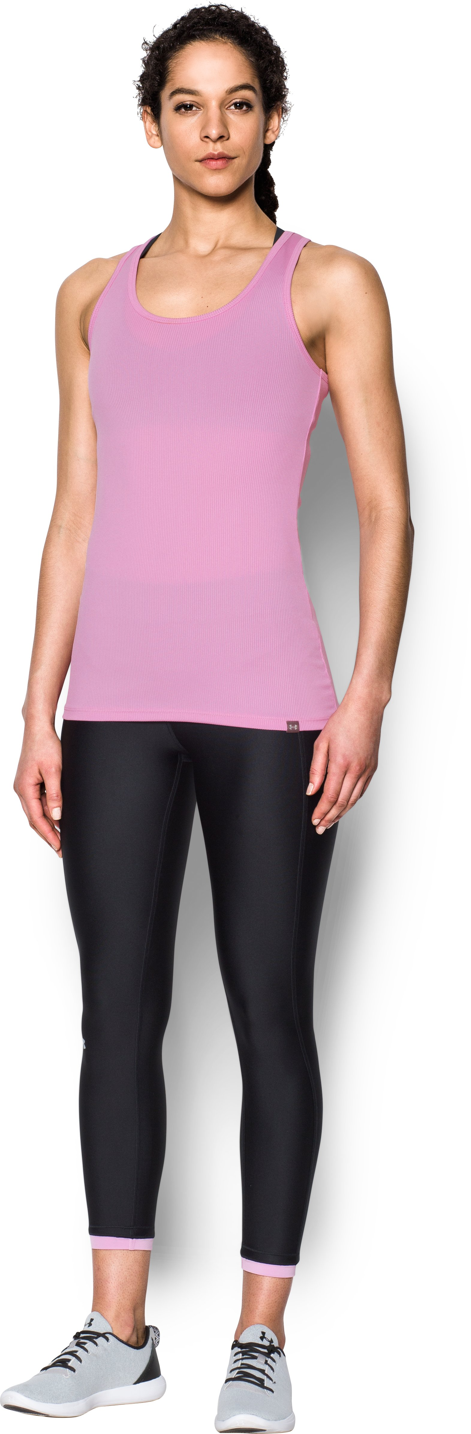 Women's UA Tech™ Victory Tank, ICELANDIC ROSE