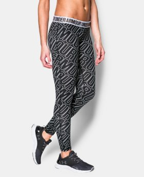 Women's UA Favorite Allover Word Mark Legging  1 Color $37.99