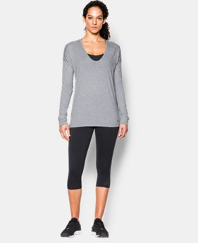 Women's UA Favorite Drop Shoulder Long Sleeve LIMITED TIME: FREE SHIPPING  $33.99