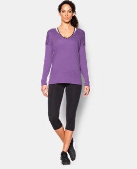 Women's UA Favorite Drop Shoulder Long Sleeve  3 Colors $33.99