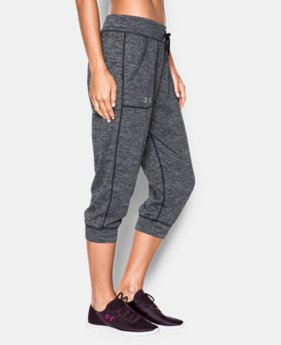Women's UA Tech™ Twist Capris LIMITED TIME OFFER 1 Color $27.99