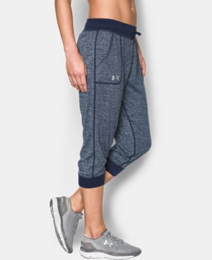New Arrival  Women's UA Tech™ Twist Capri LIMITED TIME: FREE SHIPPING 1 Color $44.99