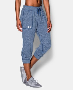Women's UA Tech™ Twist Capri LIMITED TIME: FREE U.S. SHIPPING 1 Color $29.99