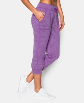 Women's UA Tech™ Twist Capri  1 Color $29.99