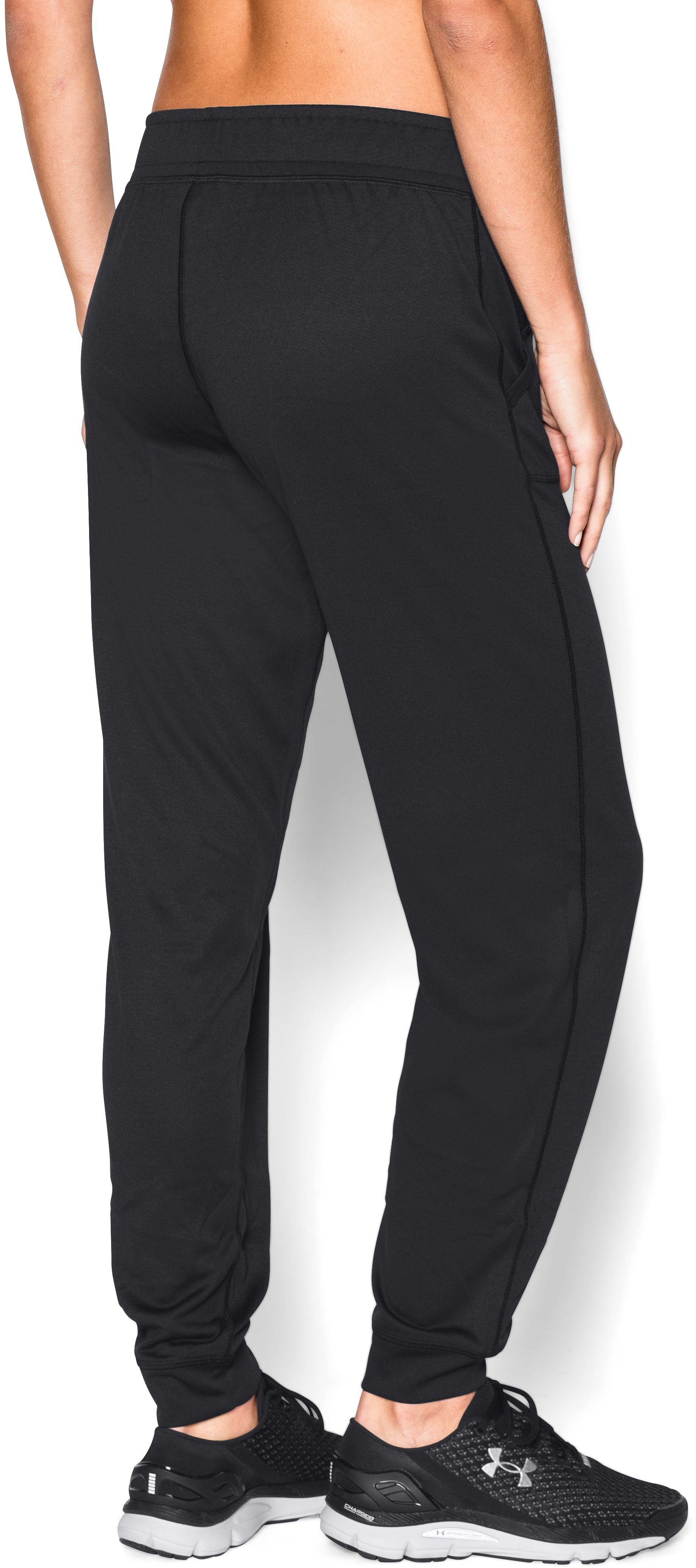 Women's UA Tech™ Pants, Black ,