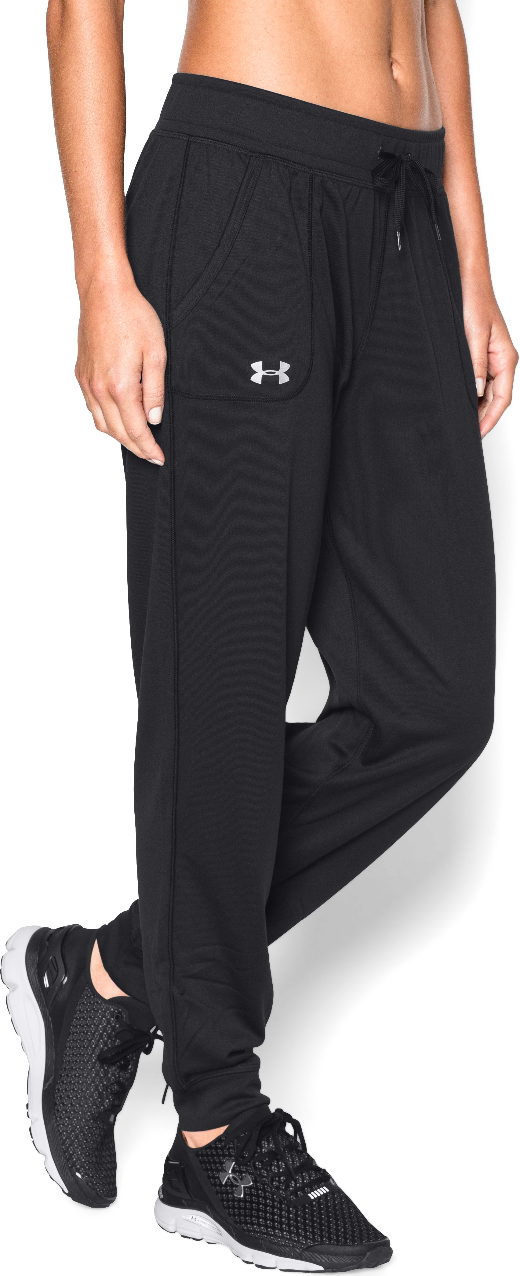 Women's UA Tech™ Pants, Black
