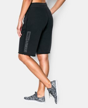 Women's UA Favorite French Terry Boy Short  1 Color $44.99