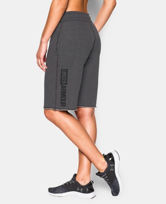 Women's UA Favorite French Terry Boy Short  1 Color $29.99