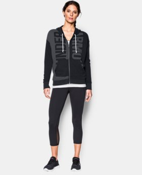 Women's UA Favorite French Terry Full Zip  1 Color $59.99
