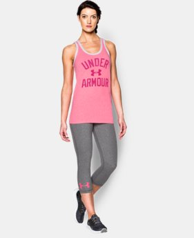 Women's UA Favorite Graphic Tank  1 Color $29.99