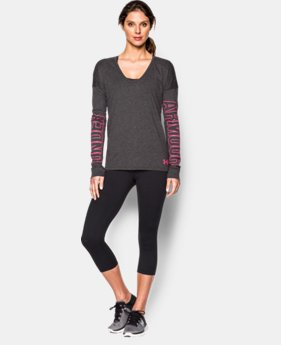 Women's UA Favorite Logo Long Sleeve  1 Color $49.99