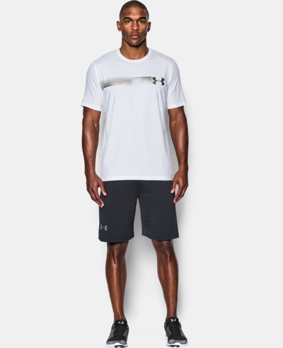 Men's UA Fast Logo T-Shirt LIMITED TIME: FREE U.S. SHIPPING 3 Colors $14.24 to $18.99