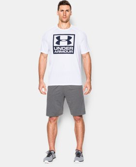 Men's UA Tech™ Boxed Logo T-Shirt LIMITED TIME: FREE SHIPPING 1 Color $32.99